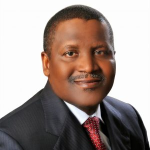 President of the Group, Aliko Dangote