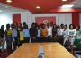 Airtel Ghana's CEO, Lucy Quist with the Interns