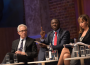 Ghana deputy energy minister Mohammed Amin Adam speaks at the 2017 Resource Governance Index launch in London