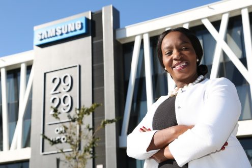 Sthe Shabangu, Lead: Public Relations, Public Affairs and Corporate Citizenship, Samsung Africa Office
