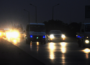 Motorway in darkness
