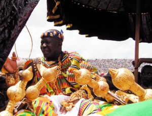 Otumfuo Osei Tutu II, King of Asante, Ghana