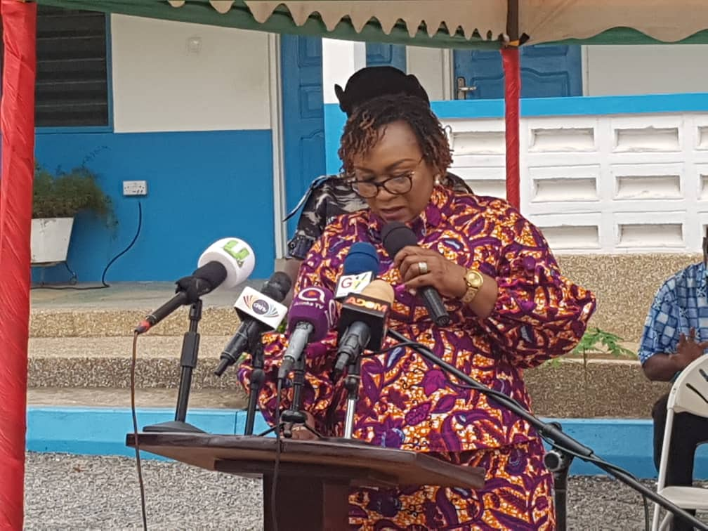 Minister for Fisheries and Aquaculture and Development, Mrs Hawa Koomson